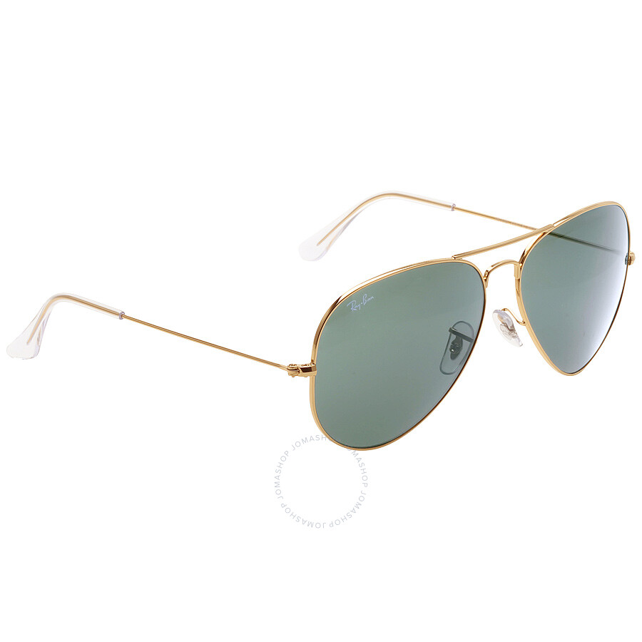 Ray ban original aviator green classic g 15 sunglasses for Ray ban aviator miroir homme