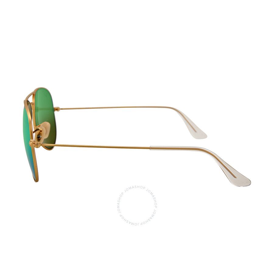 bc12fa9ab299 ... Ray Ban Original Aviator Green Flash Polorized Sunglasses RB3025 112 P9  58-14 ...