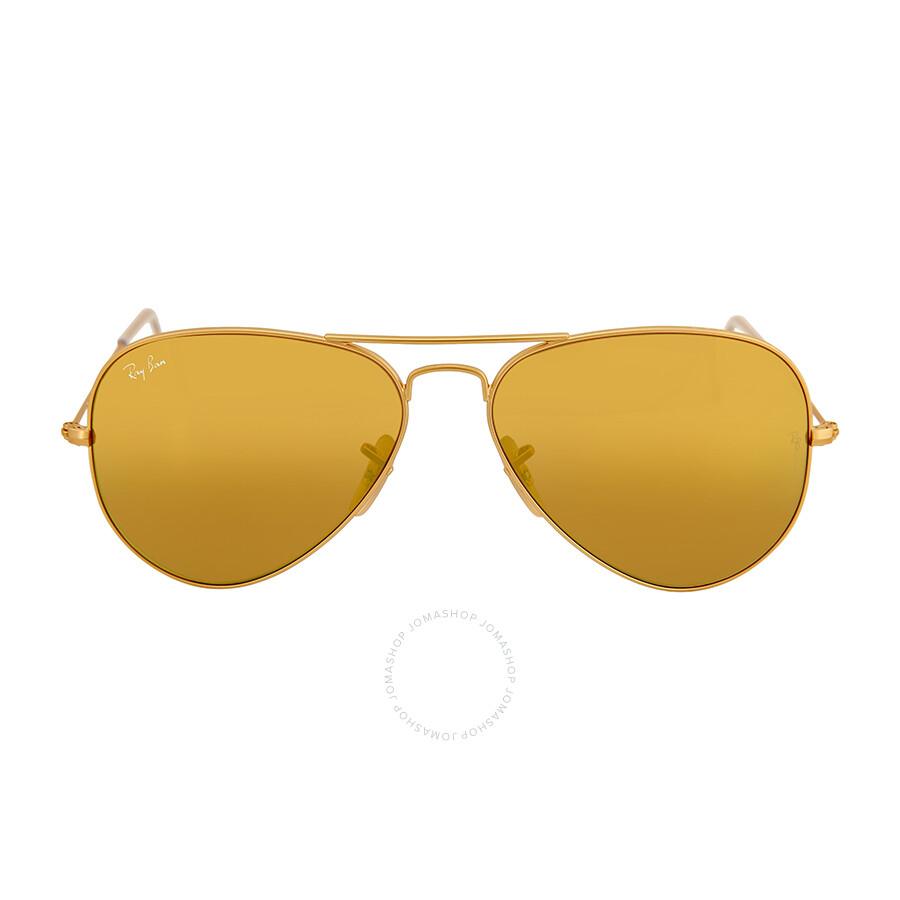4983c0c4ab5 Ray Ban Original Aviator Yellow Flash Sunglasses Item No. RB3025 112 93  58-14