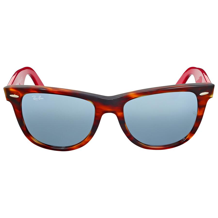 8b95801cf2 Ray Ban Original Wayfarer Bicolor Silver Flash Tortoise Sunglasses Item No.  RB2140 117830 54