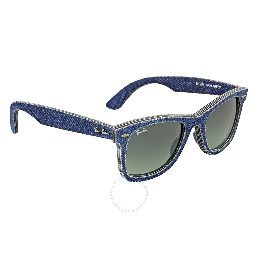 7a8b46185e Ray-Ban Original Wayfarer Blue Denim Sunglasses RB2140 116371 50 .