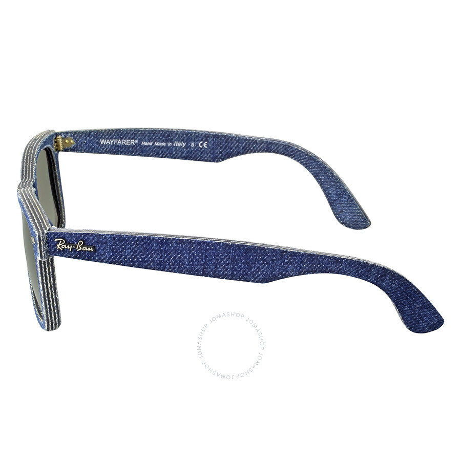 217a611fb6 ... Ray-Ban Original Wayfarer Blue Denim Sunglasses RB2140 116371 50 ...