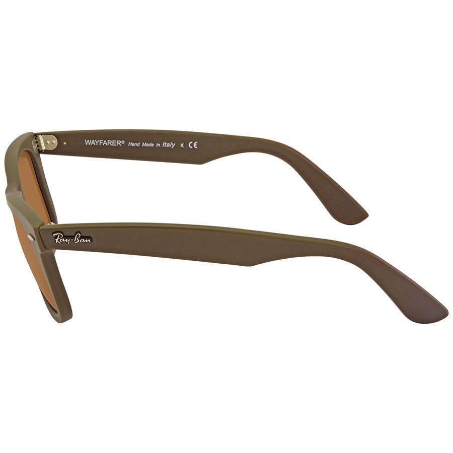 c3f411c653b ... Ray Ban Original Wayfarer Brown Classic B-15 Sunglasses RB2140 889 50