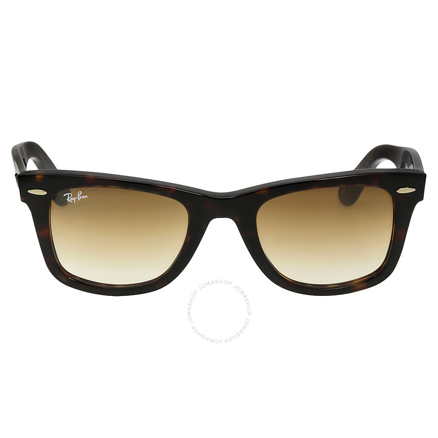 d902990aa48e Ray-Ban Original Wayfarer Classic Light Brown Gradient Lens Tortoise  Acetate Sunglasses RB2140-902 ...