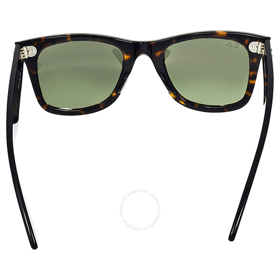 25a3e6a97efb ... Ray Ban Original Wayfarer Classic Green Classic G-15 Men s Sunglasses  RB2140 902 50- ...