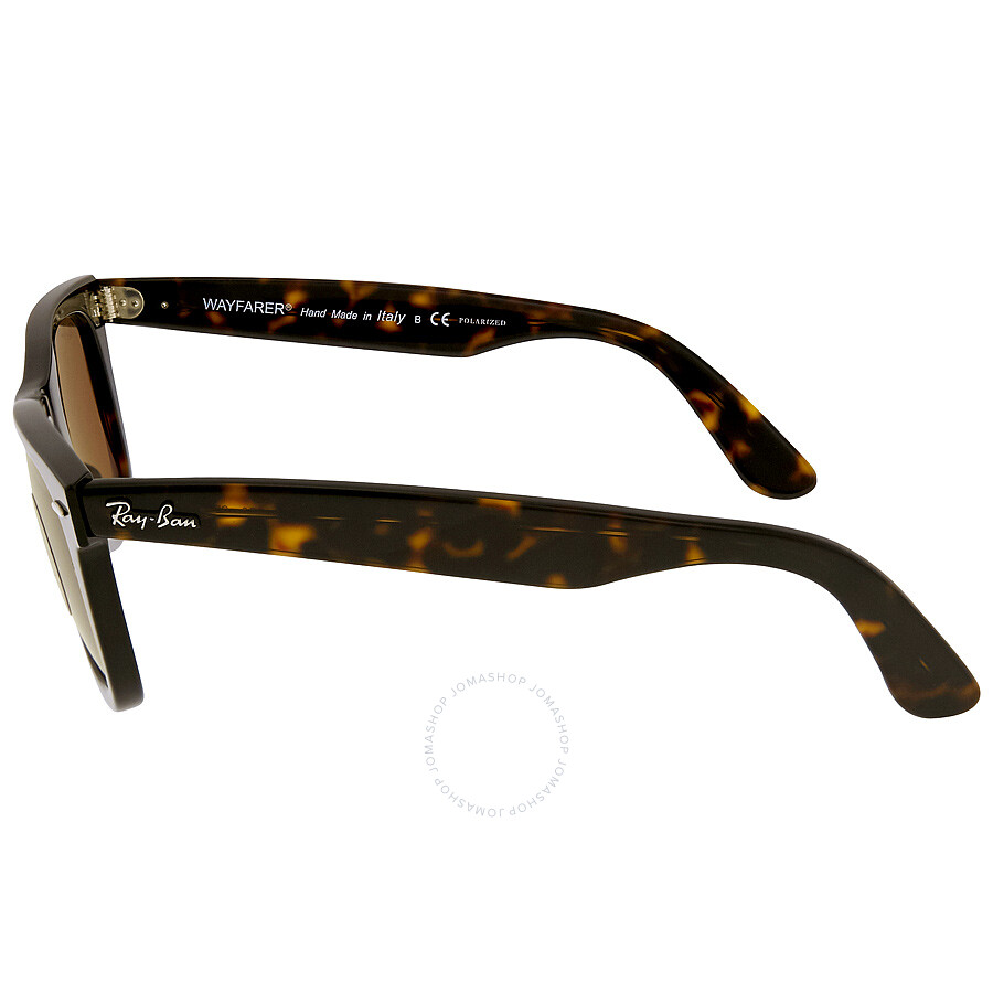2a0b125c22 ... Ray Ban Original Wayfarer Classics Polarized Brown Classic B-15 Sunglasses  RB2140 902 57
