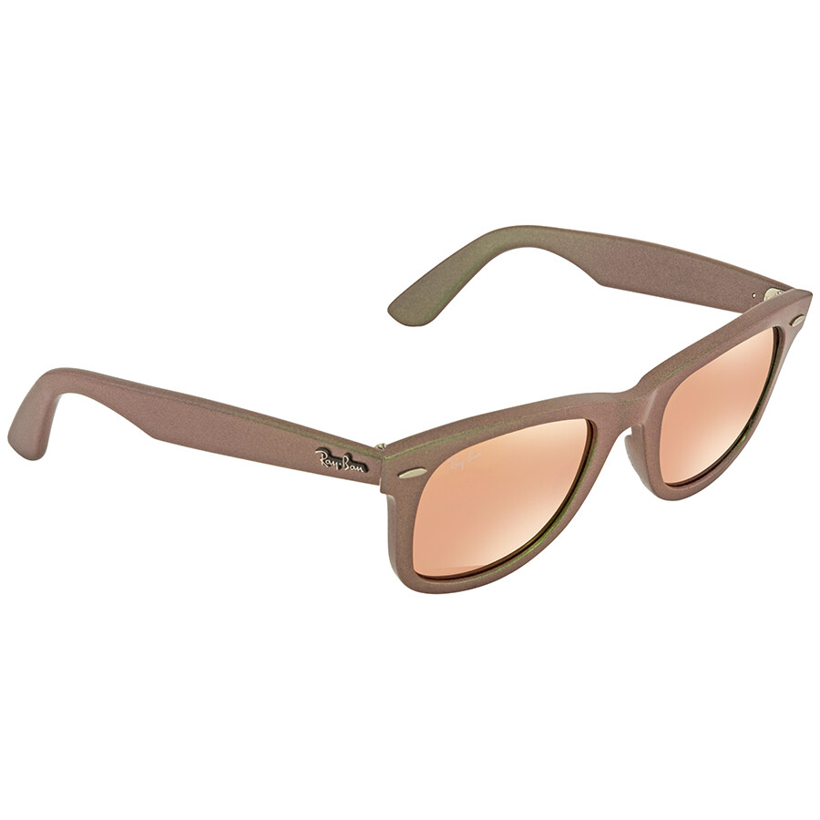 85f4635fa4d Ray Ban Original Wayfarer Cosmo Copper Flash Sunglasses RB2140 6109Z2 50 ...