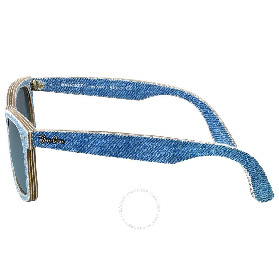 e86dc35e5a ... Ray Ban Original Wayfarer Denim Blue Gradient Sunglasses RB2140F 11644M  52