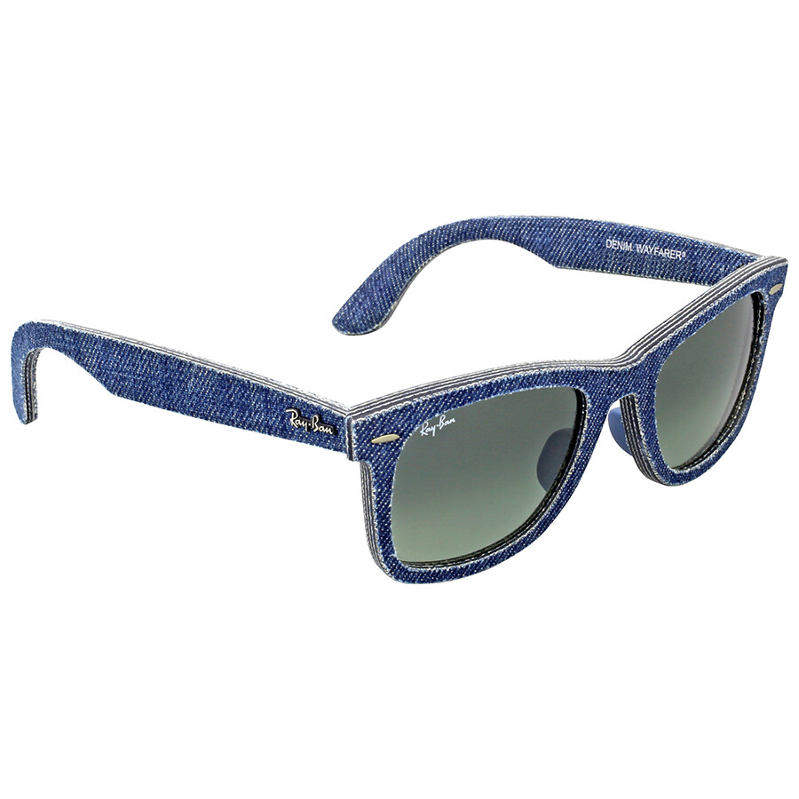 ac2550409d ... Ray Ban Original Wayfarer Denim Grey Gradient Sunglasses RB2140F 116371  52 ...