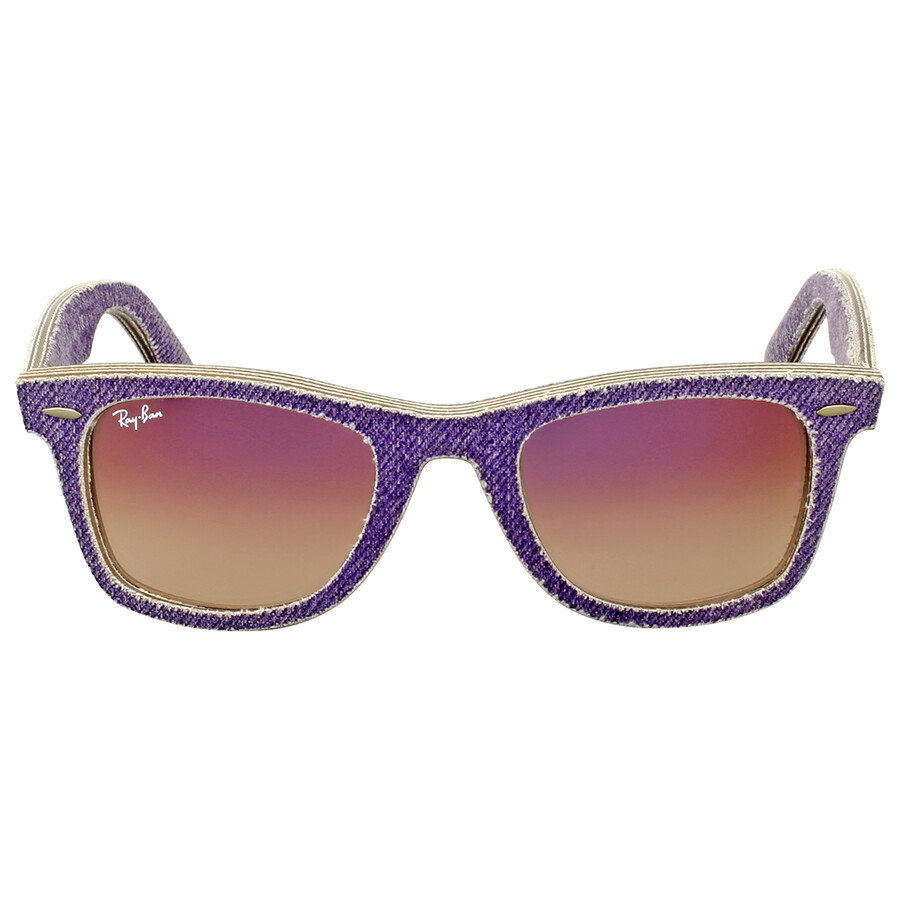 3d742861b8 Ray Ban Original Wayfarer Denim Violet Gradient Sunglasses RB2140 1167S5 50  ...