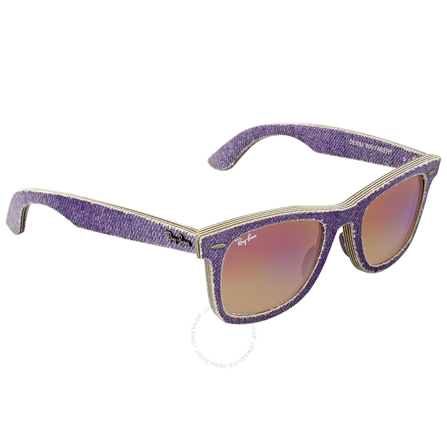 73e8a40723 ... Ray Ban Original Wayfarer Denim Violet Gradient Sunglasses RB2140  1167S5 50 ...