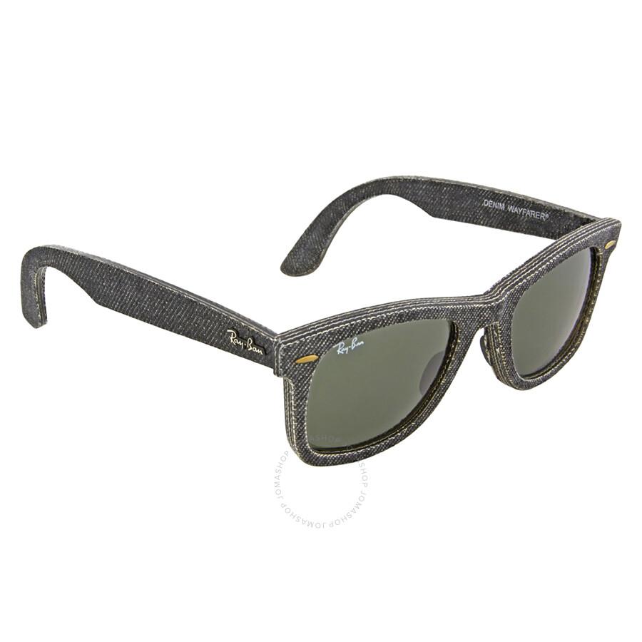 b98ca3f9aeca6 ... france ray ban original wayfarer green classic g 15 sunglasses rb2140  1162 50 4c558 65690