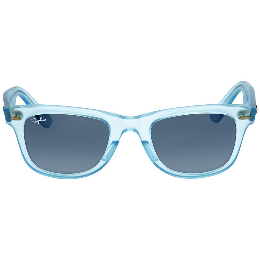 3a9a549440e Ray Ban Original Wayfarer Ice Pops Blue Gradient Sunglasses RB2140 60554M  50-22 ...