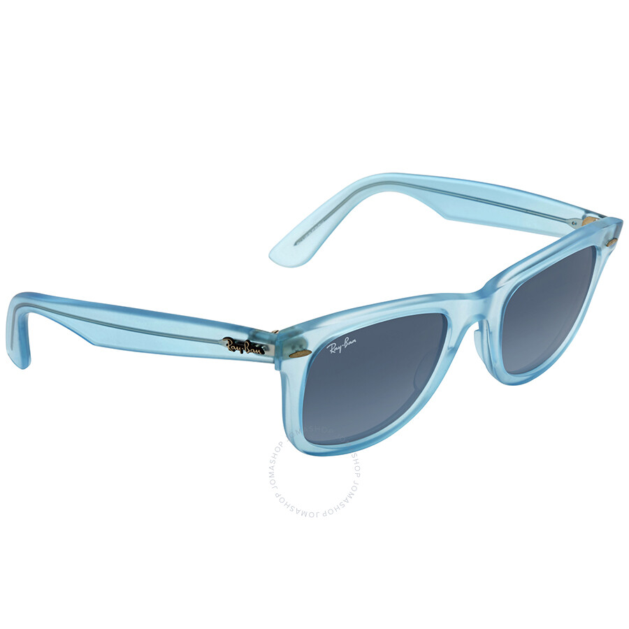 ba88230aa1 ... Ray Ban Original Wayfarer Ice Pops Blue Gradient Sunglasses RB2140  60554M 50-22 ...