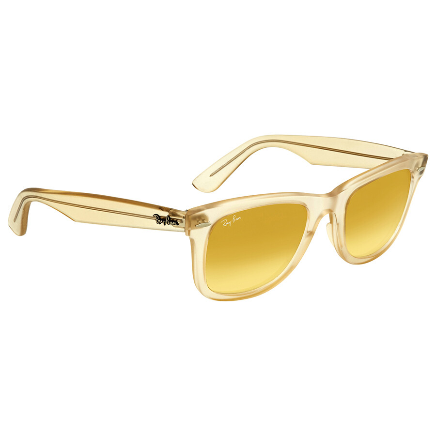 db4f69a1c2 ... Ray Ban Original Wayfarer Ice Pops Yellow Gradient Sunglasses RB2140  6059X4 50 ...
