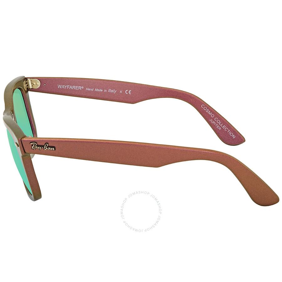 def48b6adba15 ... Ray Ban Original Wayfarer Jupiter Cosmo Green Non-Polarized Lens  Sunglasses RB2140 611019 50- ...