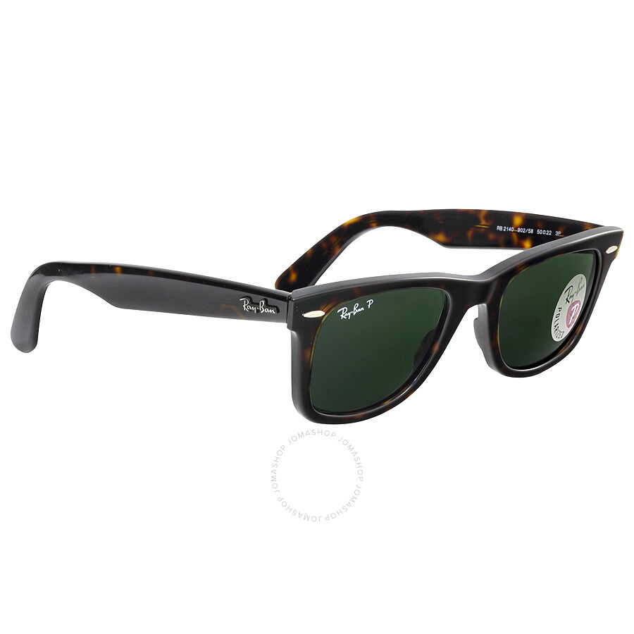 wayfarer original  Ray-Ban Original Wayfarer Tortoise Polarized 50mm Sunglasses ...