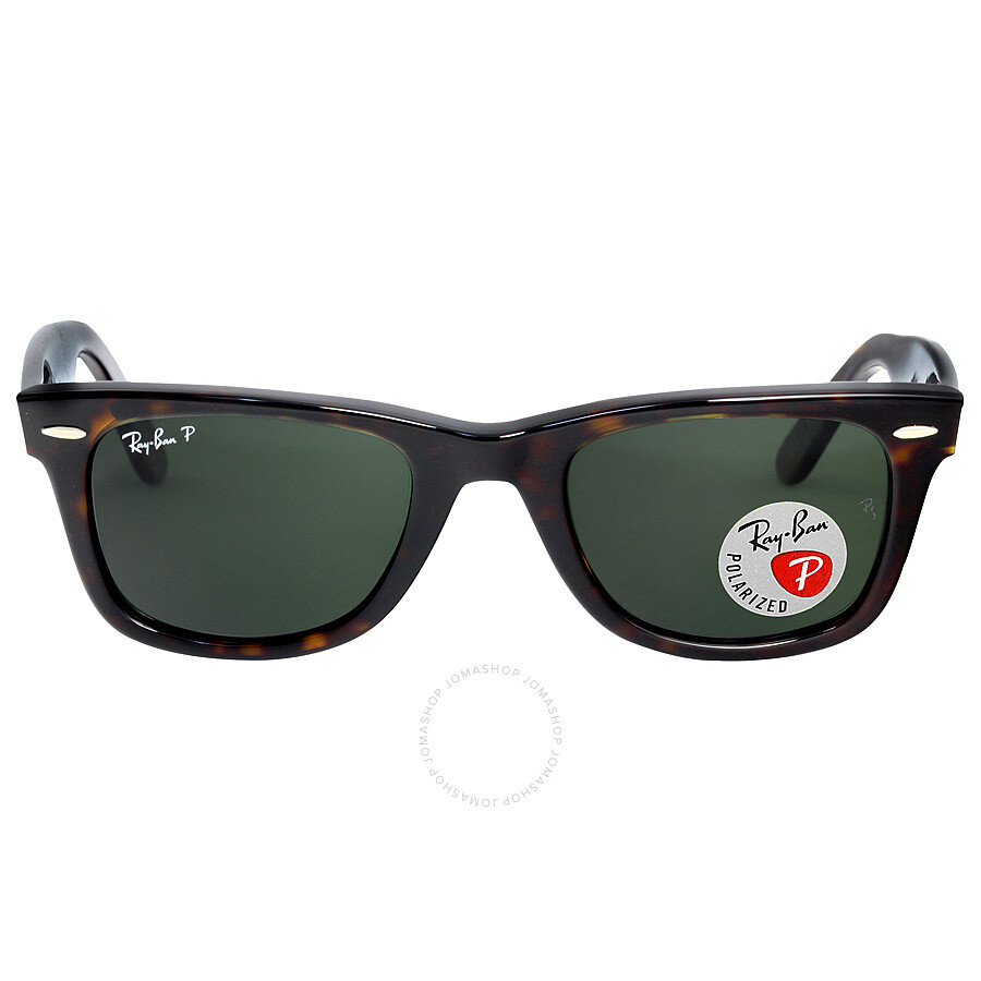 Ray-Ban Original Wayfarer Tortoise Polarized 50mm Sunglasses RB2140 902/58 50-22 ...