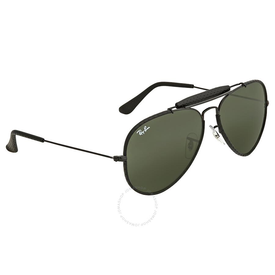 9548f70f4 ... Ray Ban Outdoorsman Craft Green Classic G-15 Men's Sunglasses RB3422Q  9040 58 ...