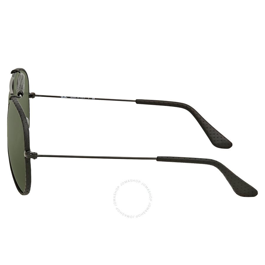 5bcf5b8dad ... Ray Ban Outdoorsman Craft Green Classic G-15 Men s Sunglasses RB3422Q 9040  58