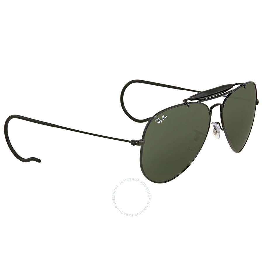 664dbb851c ... Ray Ban Outdoorsman Green Classic G-15 Men s Sunglasses RB3030 L9500 58  ...