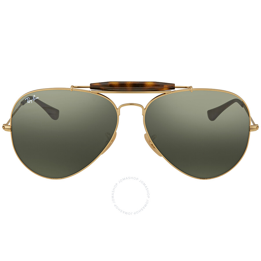 5257f6175397b1 Ray Ban Outdoorsman II Aviator Sunglasses - Ray-Ban - Sunglasses ...