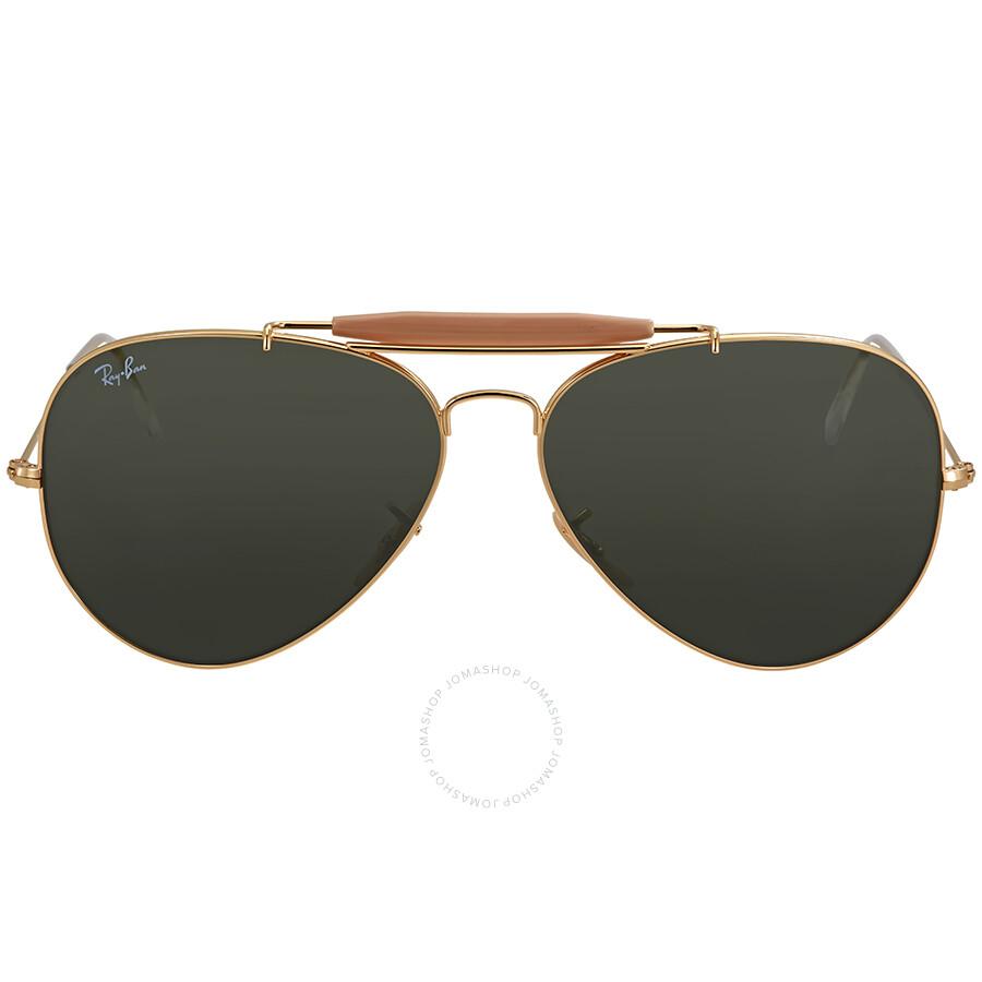 985381e70 Ray Ban Outdoorsman II Green Classic G-15 Men's Sunglasses RB3029 L2112 62  Item No. RB3029 L2112 62