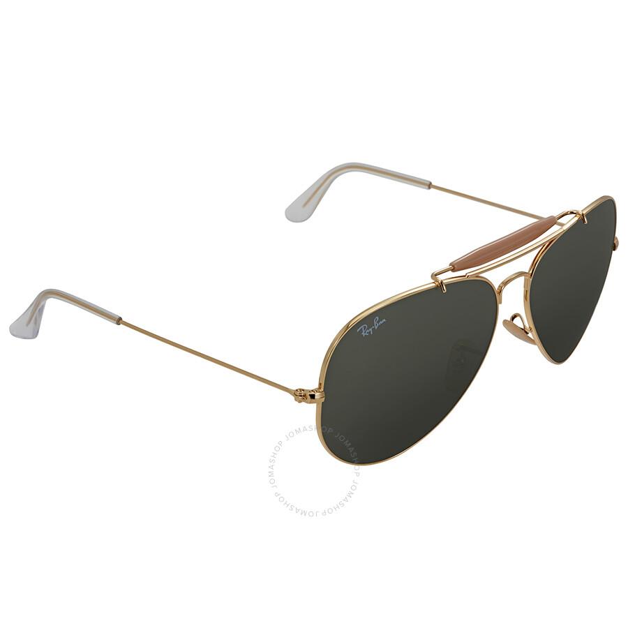 158976f81 ... Ray Ban Outdoorsman II Green Classic G-15 Men's Sunglasses RB3029 L2112  62 ...