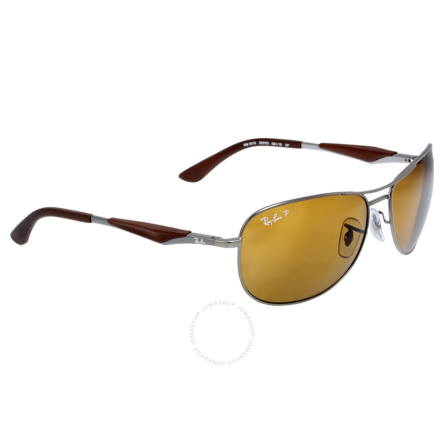 d5d2cc325ef13 ... Ray-Ban Active Pilot 59mm Sunglasses - Polarized Brown Classic ...