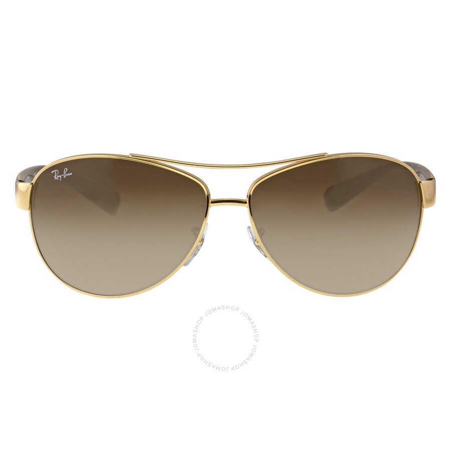 pilot ray ban  Ray-Ban Active Lifestyle Brown Gradient Lens Sunglasses RB3386 001 ...