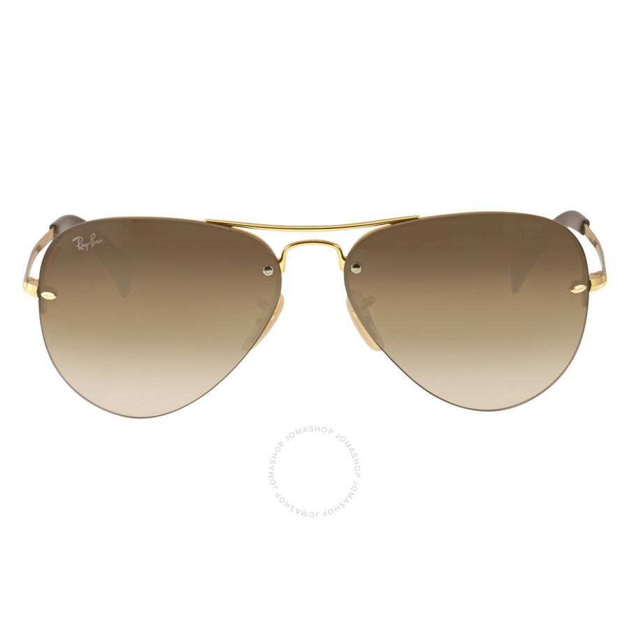 f2e9fb5770 Ray-Ban Pilot Brown Gradient Lens Sunglasses RB3449-001-13-59 ...