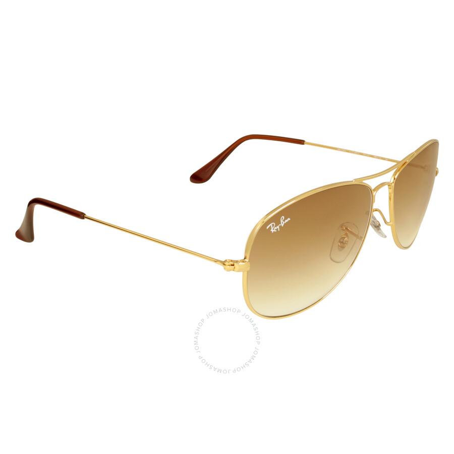 Ray-Ban Pilot Gold-Tone Metal Frame Sunglasses RB3362 001 ...