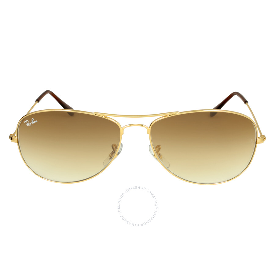 rayban pilot goldtone metal frame sunglasses rb3362 001