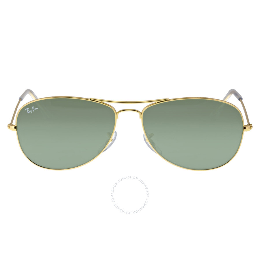 f524f5cdf0b Ray-Ban Pilot Gold-Tone Metal Frame Sunglasses RB3362 001 59-14 ...