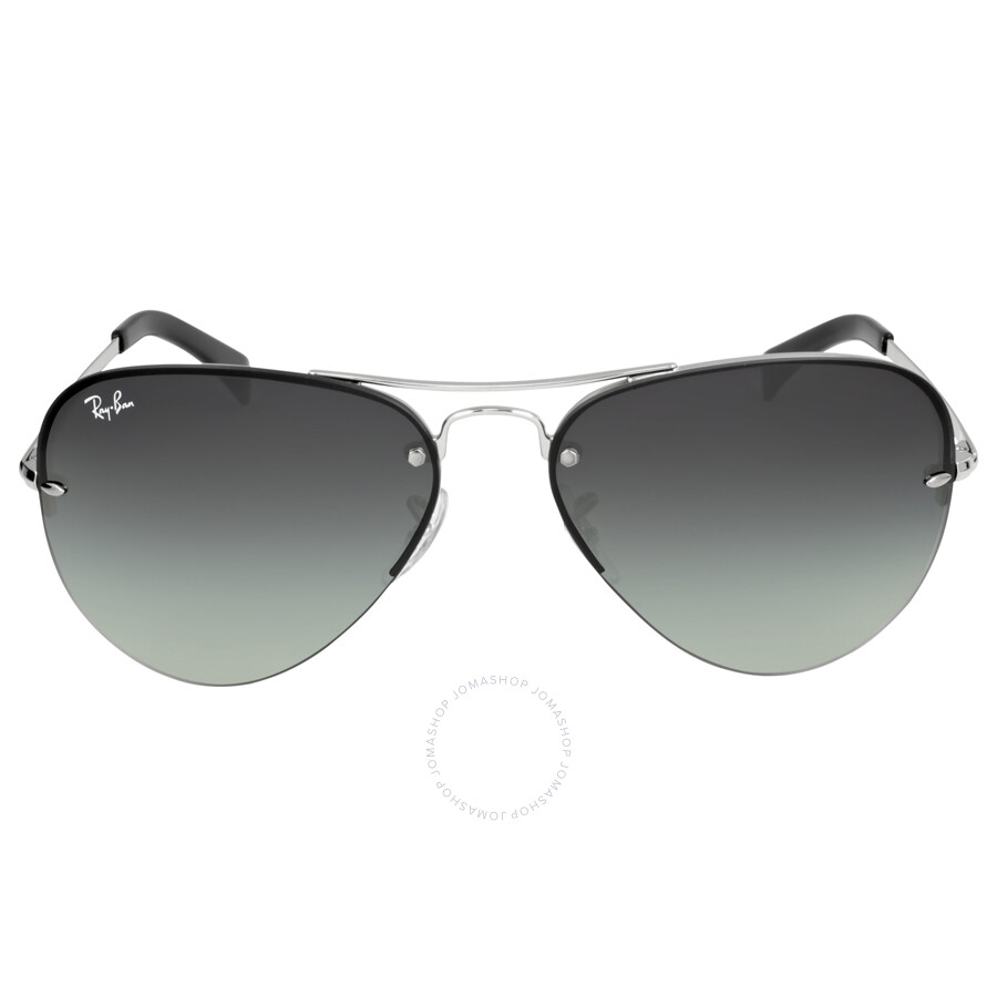 ee54a246a Ray-Ban Pilot Grey Mirror Lens Sunglasses RB3449-003-8G-59 - Aviator ...