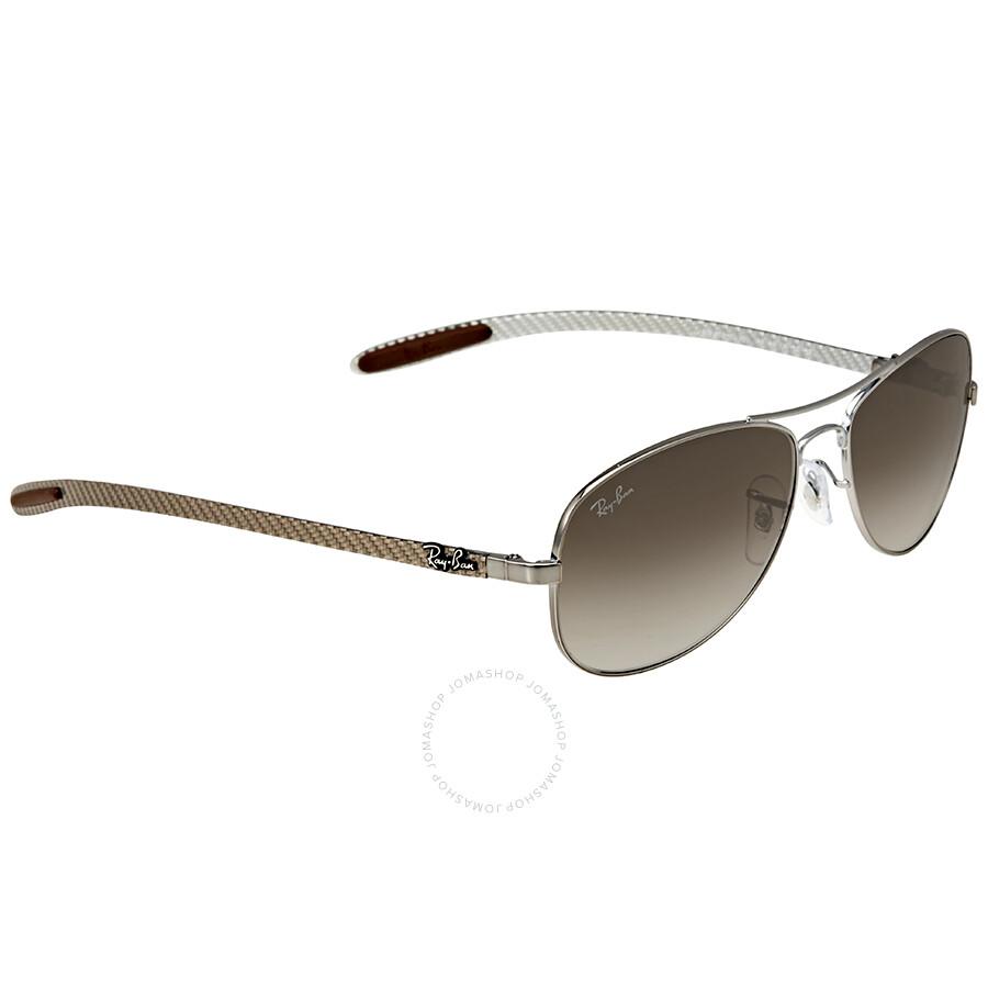 cd5e2552a0 ... Ray-Ban Pilot Light Brown Gradient Sunglasses RB8301 004 51 56 ...