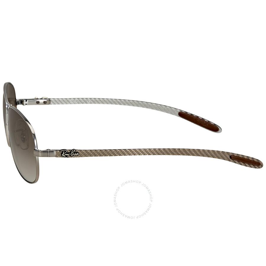 262c4e8e92 Ray-Ban Pilot Light Brown Gradient Sunglasses RB8301 004 51 56 ...