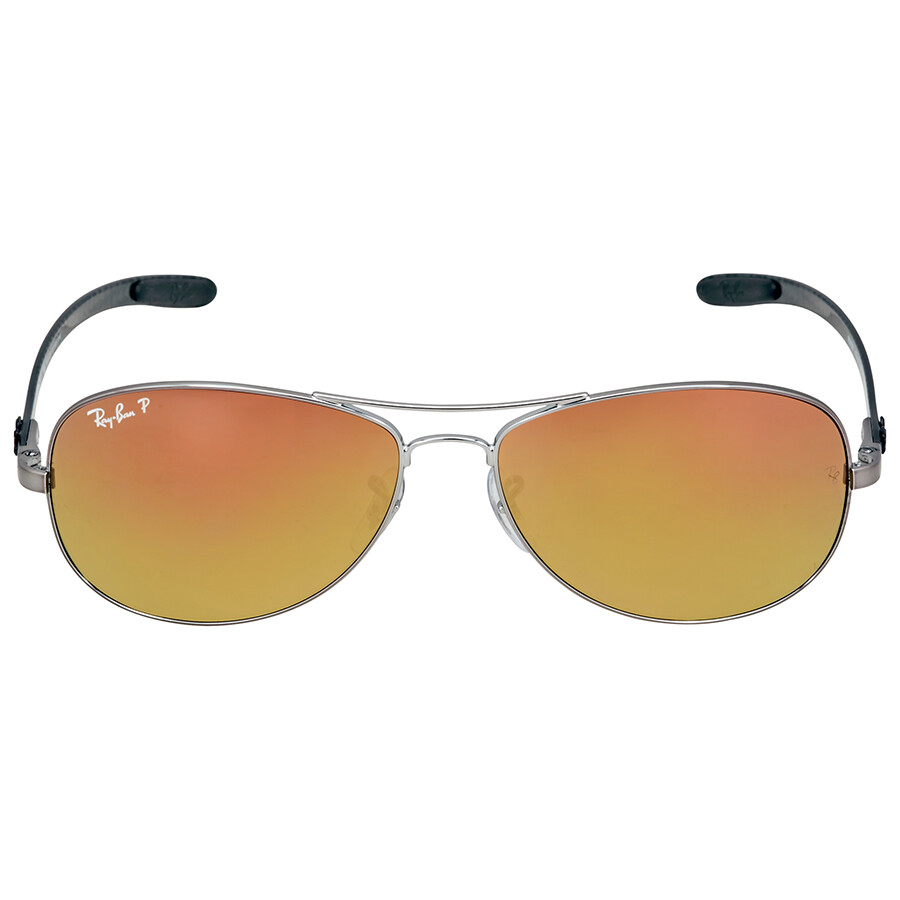pilot ray ban  Ray-Ban Pilot Polarized Gold Mirror Sunglasses - Sunglasses - Jomashop