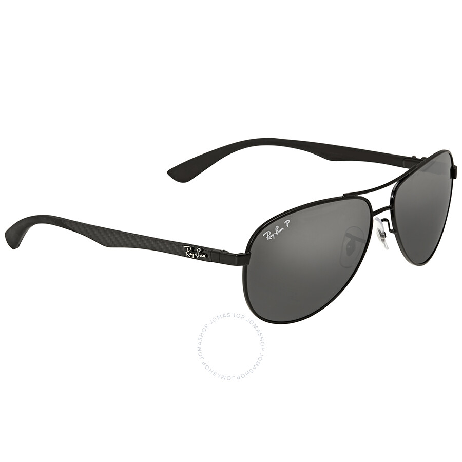 9535914d0f4 Ray-Ban Pilot Polarized Grey Mirror Sunglasses - Aviator - Ray-Ban ...