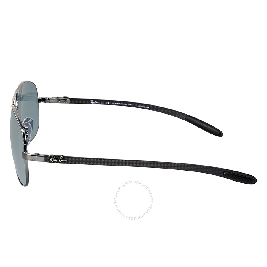 ef5c8c039cde ... Ray-Ban Pilot Polarized Silver Mirror Sunglasses RB8301 004 K6 59 ...