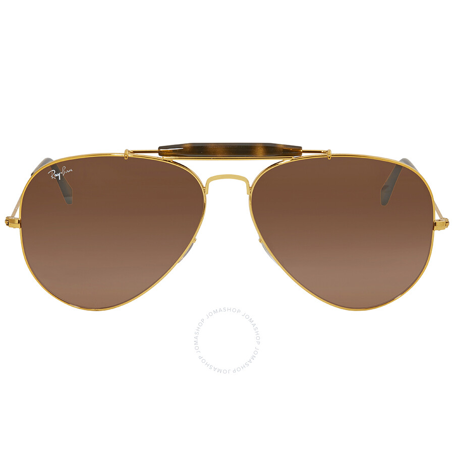 fba76dced8 Ray Ban Pink Brown Gradient Aviator Men s Sunglasses RB3029 9001A5 62 ...