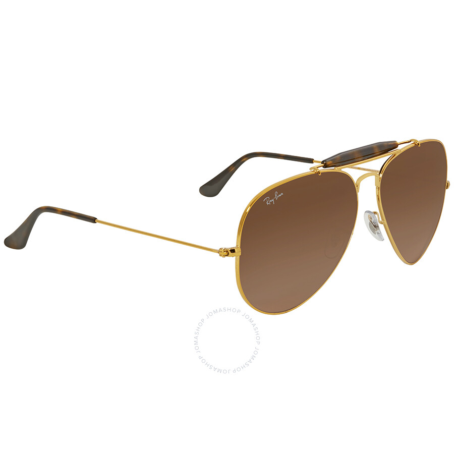 fdb90cd3f1 ... Ray Ban Pink Brown Gradient Aviator Men s Sunglasses RB3029 9001A5 62  ...