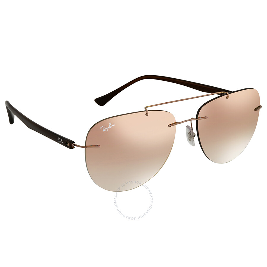 63d78e91940 Ray Ban Pink Gradient Mirror RB8059 155 B9 57 Sunglasses RB8059 155 B9 57  ...