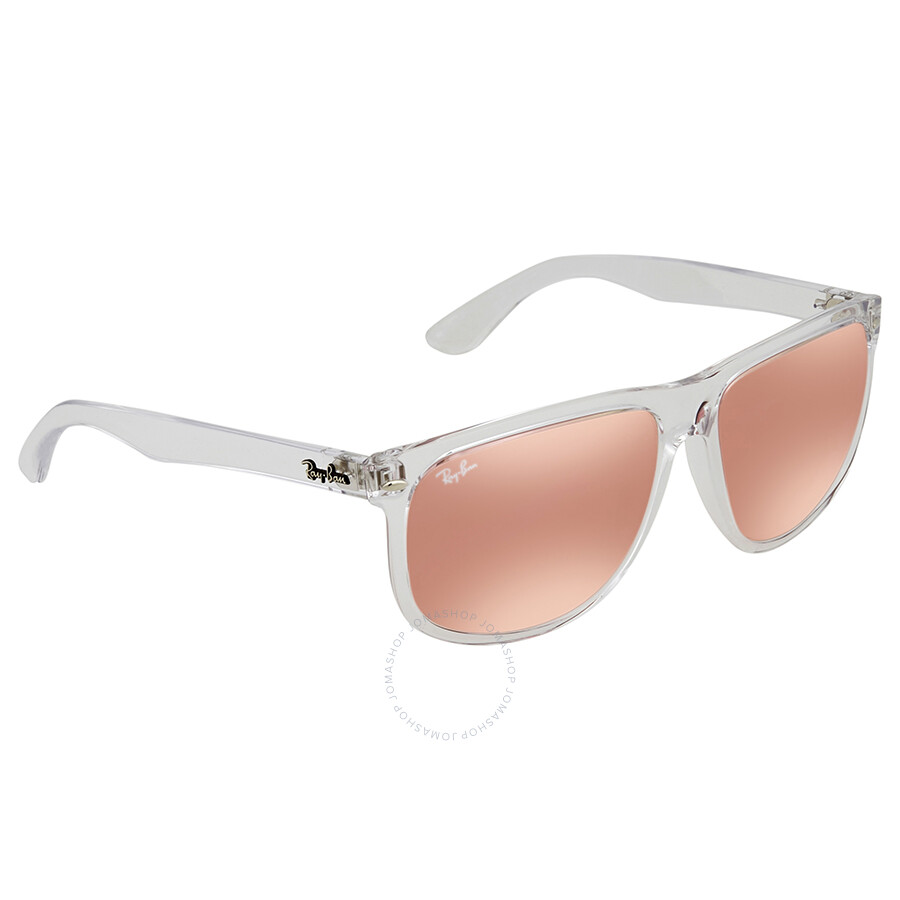 9fb349e0c1 Ray Ban Pink Mirror Rectangular 60mm Sunglasses RB4147 6325E4 60 ...