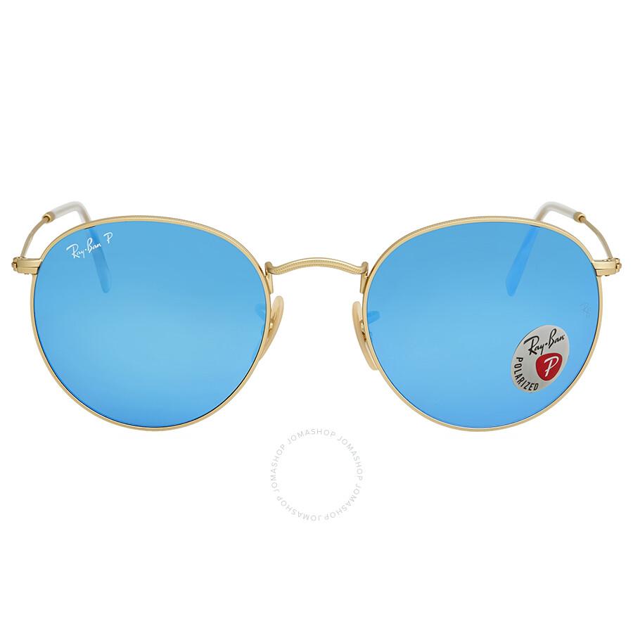 926e95afeb Ray Ban Polarized Blue Flash Men s Sunglasses RB3447 112 4L 53 ...