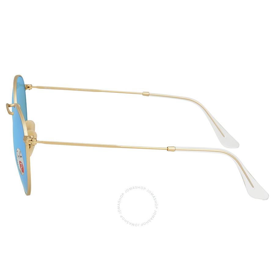 ac0e6f252 ... Ray Ban Polarized Blue Flash Men's Sunglasses RB3447 112/4L 53