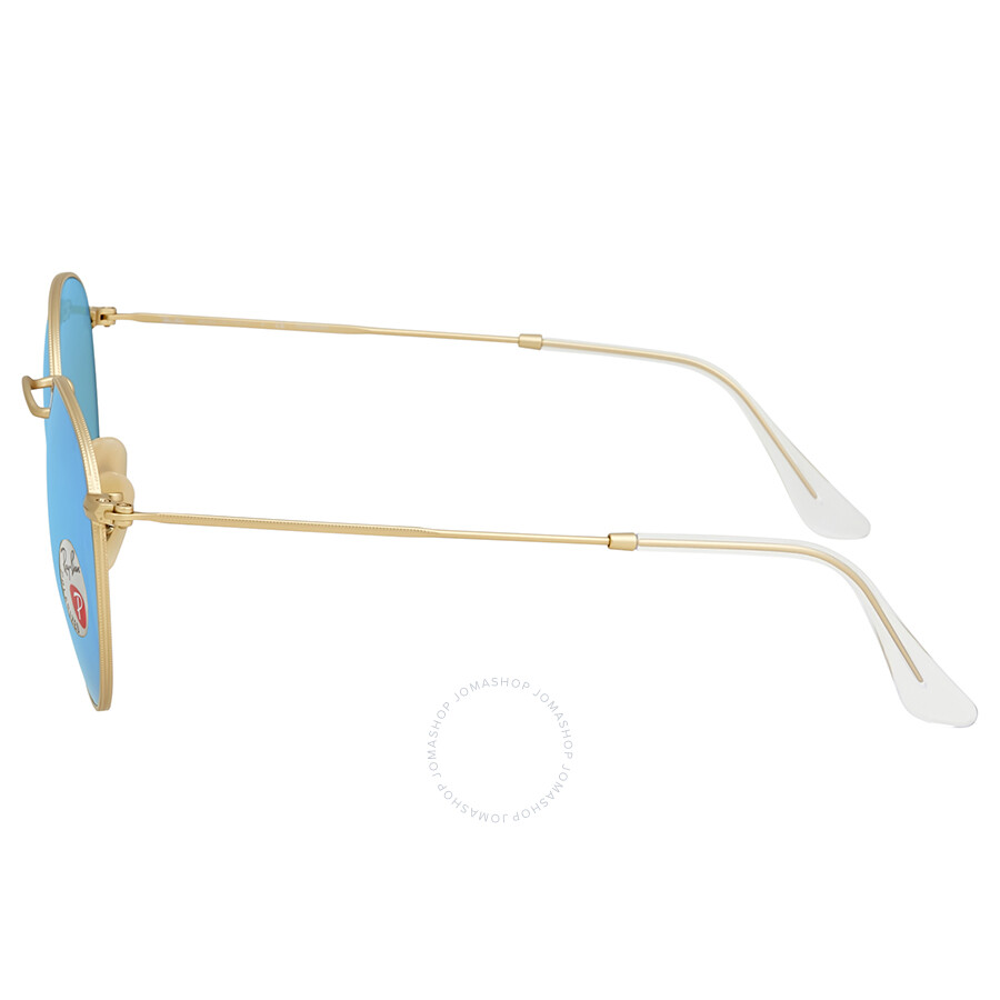 19938a9900 Ray Ban Polarized Blue Flash Men s Sunglasses RB3447 112 4L 53 ...