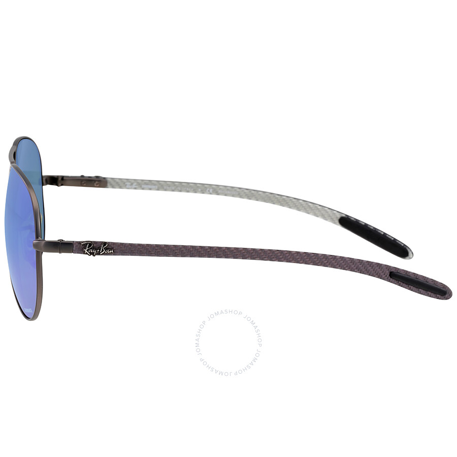 00ed805e08 Ray-Ban Polarized Blue Mirror Chromance Aviator Sunglasses - Ray-Ban ...