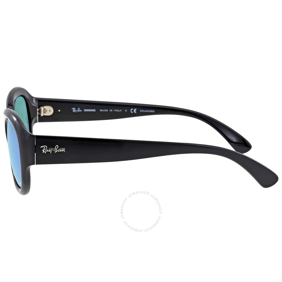 a361649dd55 Ray-Ban Polarized Blue Mirror Square Sunglasses - Ray-Ban ...