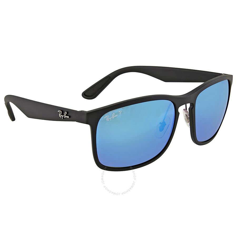 Ray Ban Polarized Blue Mirror Sunglasses RB4264 - Ray-Ban